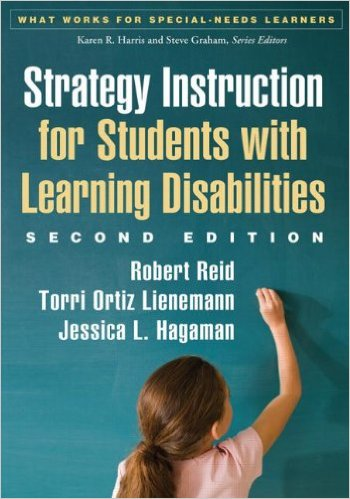 Strategy instruction for students with learning disabilities - SRSD Book